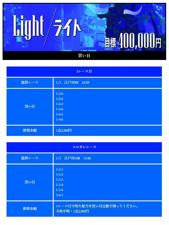 競艇予想サイト・競艇BULL・優良・稼げる・ライトプラン・画像
