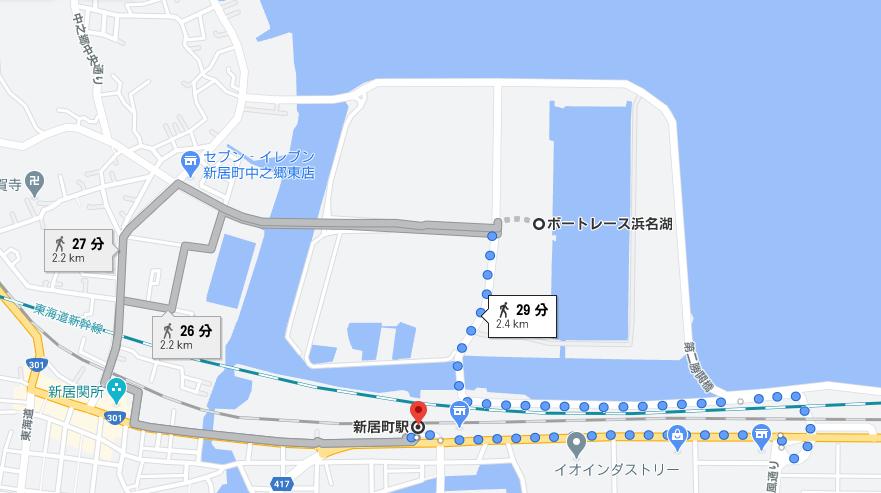 競艇・競艇場・ボートレース・ボートレース場・ボートレース浜名湖・浜名湖競艇場・アクセス・地図