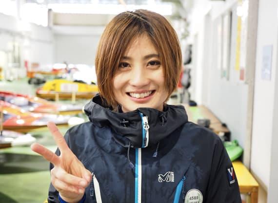 競艇予想サイト塩崎桐加ボートレーサー美人-