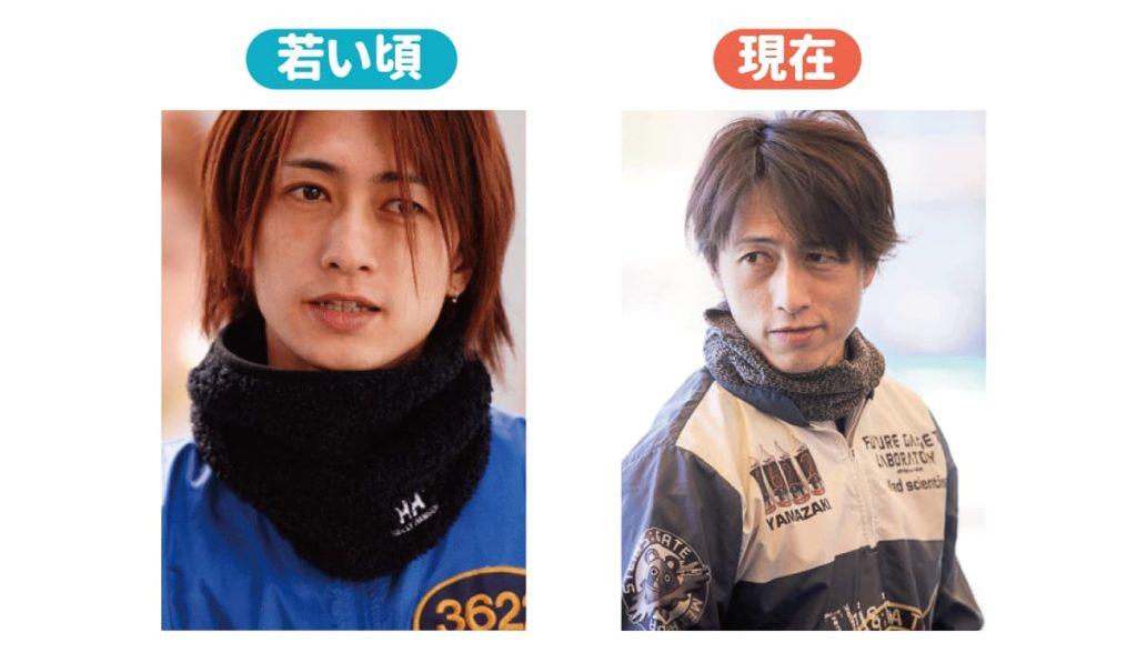 イケメンボートレーサー・比較・イケメン・山崎智也