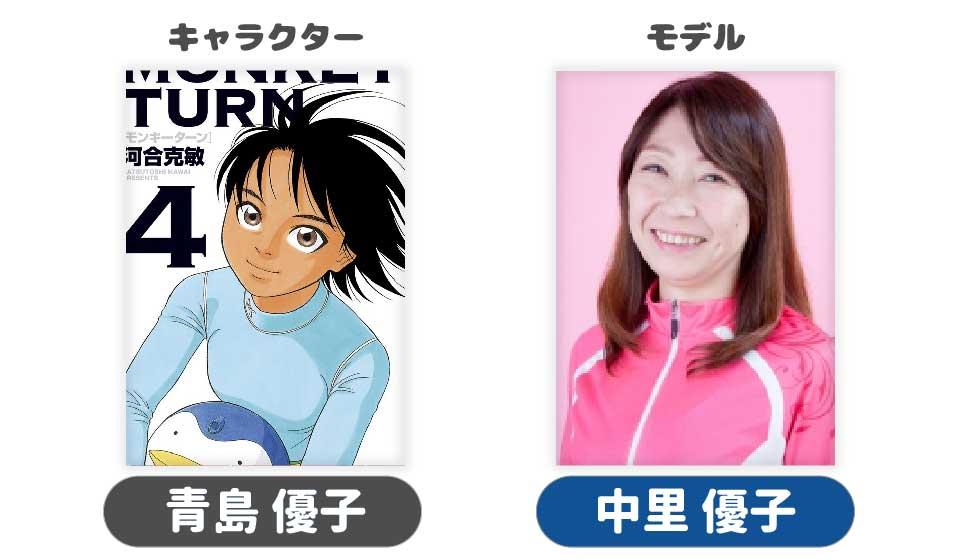 競艇ボートレースボートレーサー競艇選手モンキーターン漫画青島優子中里優子-