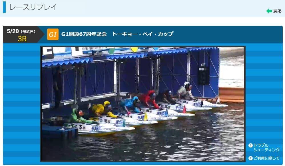 競艇ボートレースライブ配信視聴方法-
