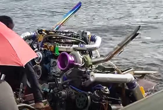競艇ボートレースタイエンジン-