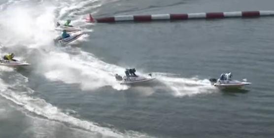 競艇ボートレース松井繁フライング妨害失格転覆G1福岡-